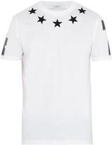 Givenchy Cuban-fit star-appliqué T-shirt
