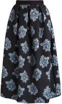 Closet Maxi skirt black and blue
