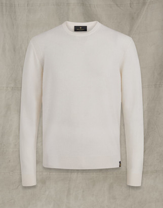 Belstaff ENGINEERED CREW NECK White