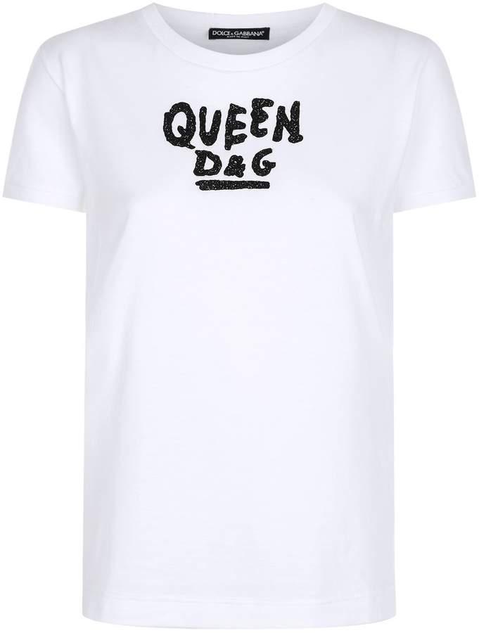Dolce & Gabbana Embellished T-Shirt