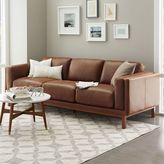 "west elm Dekalb Leather Sofa (96"")"