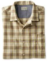 L.L. Bean Men's Lightweight Camp Shirt, Slightly Fitted Short-Sleeve