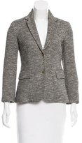 The Row Tweed Notch-Lapel Blazer w/ Tags
