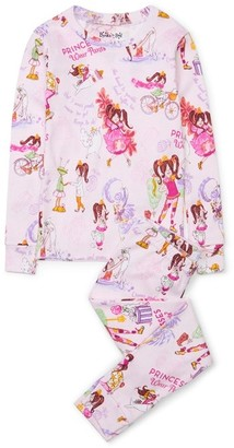 Books to Bed Princesses Wear Pants Pajamas - Size 2