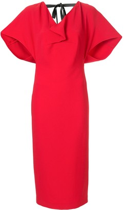 Roland Mouret Marianne midi dress