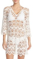Women's Surf Gypsy Crochet Cover-Up Tunic