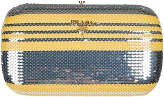 Prada Sequinned Design Clutch