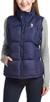 U.S. Polo Assn. Evening Blue Puffer Vest