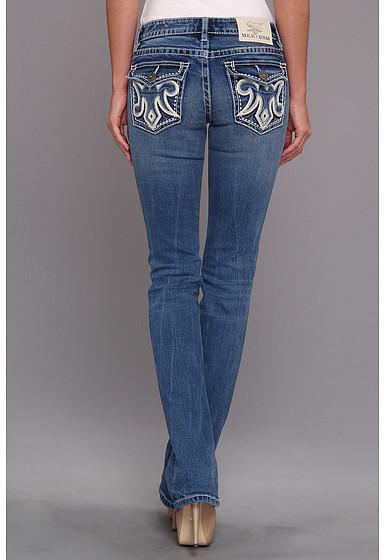 MEK Colwood Slim Bootcut Jean in Medium Blue