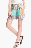 Clover Canyon 'Roadside' Sequin Shorts