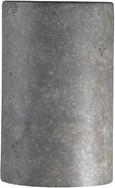 "575 Denim Marburger 1-Light Flush Mount Wrought Studio Size: 9.5"" H x W x 4"" D"