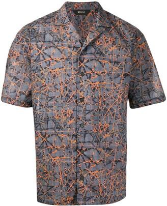 Ermenegildo Zegna Abstract Print Shirt