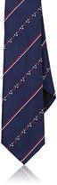 Fendi Men's Striped Silk Necktie