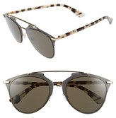 Christian Dior Women's 'Reflected' 52Mm Sunglasses - Brown Havana