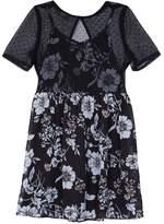 IZ Amy Byer Girls 7-16 IZ Amy Byer Slip Bodice Floral Dress