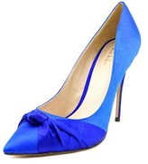 Nicole Miller Jeffrey Women Pointed Toe Canvas Heels.