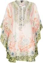 Izabel London Laser Print Kimono