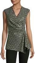 Josie Natori Women's Sequin Sleeveless Top
