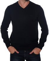 HUGO BOSS Men's V-Neck Long Sleeve Jumper BATISSE-B - , XXL