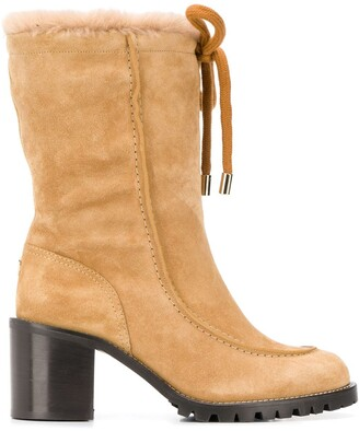 Jimmy Choo Buffy 65mm hiking boots