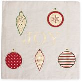 Joy Ornament Placemat in Natural/Multi
