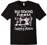 Men's My sewing Room Is my Happy Place - Funny Sewing shirt 2XL