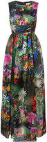 Mary Katrantzou Shaw rose garden print gown