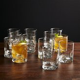 Crate & Barrel Impressions Double Old-Fashioned Glasses, Set of 12