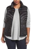 Bernardo Plus Size Women's Down & Primaloft Vest