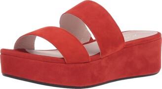 Ecco Women's Plateau Slide Sandal