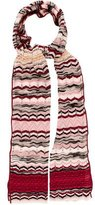 M Missoni Wool-Blend Patterned Scarf