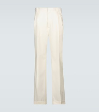Casablanca Rio pleated wool pants