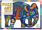 Djeco Elephant Puzzle - 150 Pieces