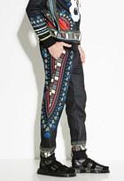 Forever 21 FOREVER 21+ Bass Tribal Print Sweatpants