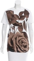 Christopher Kane Floral Graphic T-Shirt