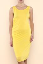 Threads 4 Thought Lani Yellow Maize Dress