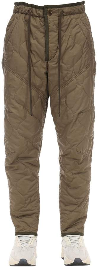Isabel Marant QUILTED GAO TECH PANTS