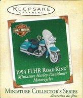 Hallmark Keepsake Ornament - Harley Davidson 1994 FLHR Road King - #7 in Series - Miniature (2005) QXM2065