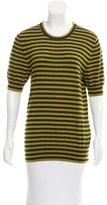 Dolce & Gabbana Cashmere Striped Top