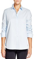 Basler Ruched Three-Quarter Sleeve Shirt