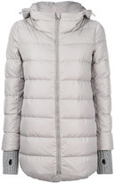Herno hooded padded coat - women - Feather Down/Polyamide/Feather - 38