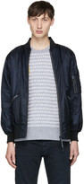 Diesel Reversible Navy X Collection Delta Bomber Jacket