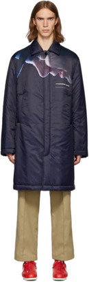Undercover Navy A Clockwork Orange Alex Top Mac Coat