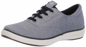Grasshoppers Women's Janey II Slip-ON Chambray Twill