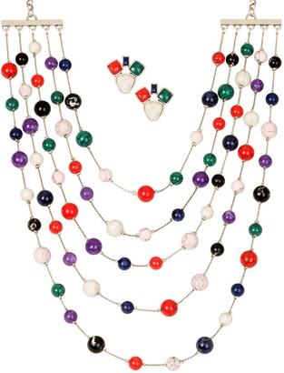 Linea By Louis Dell'olio by Louis Dell'Olio Chatelain Necklace and Earrings Set