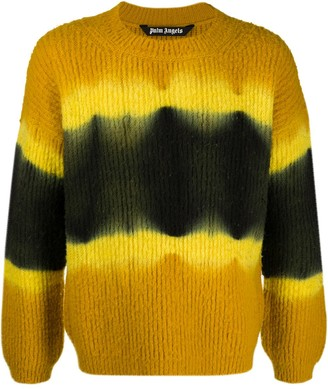 Palm Angels Tie-Dye Knitted Jumper