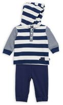 Offspring Baby Boy's Two-Piece Traffic Circles Jacket & Pants Set
