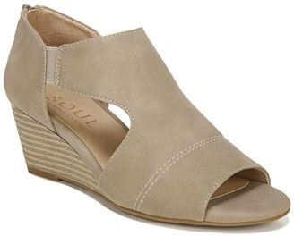 Naturalizer Neena Cutout Wedge Sandal - Wide Width Available