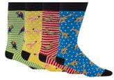 Red Herring Pack Of Four Exotic Animal Print Socks