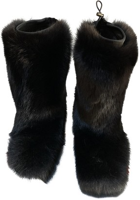 Prada \N Black Fox Boots